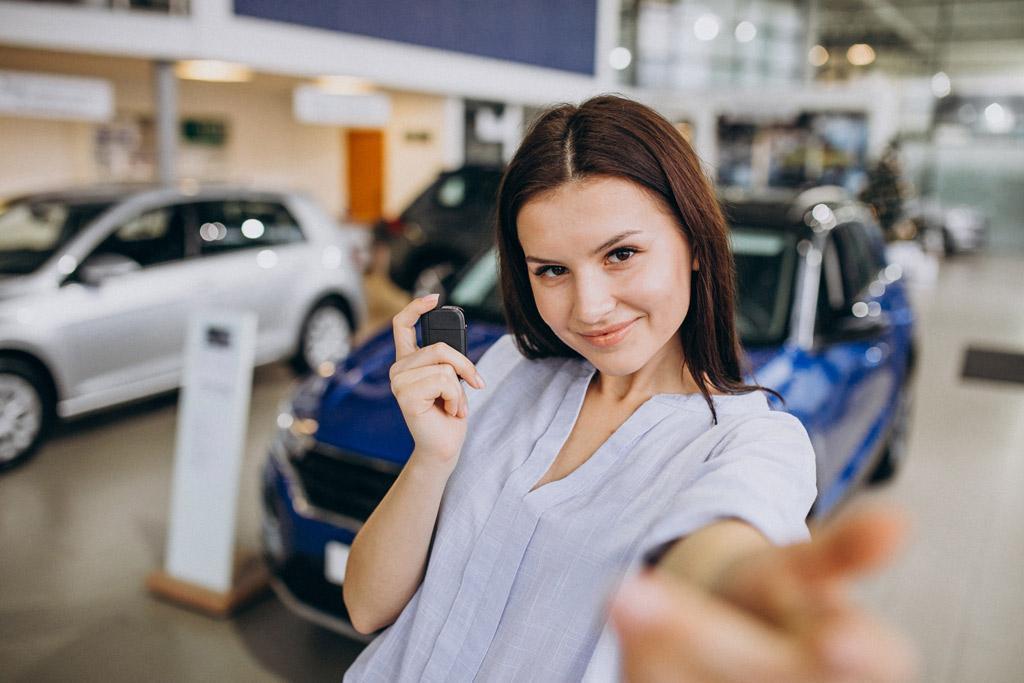 Kobieta i Auto