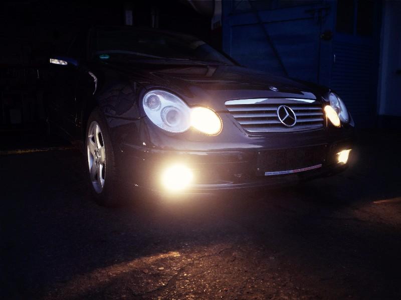 Mercedes W203 sportcopupe/C200 Kompressor FULL OPCJA