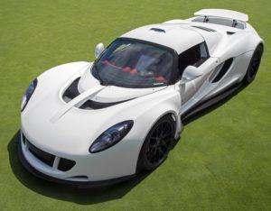 3 Najszybsze auta na świecie