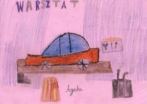 Warsztat samochodowy widziany oczami dzieci :)