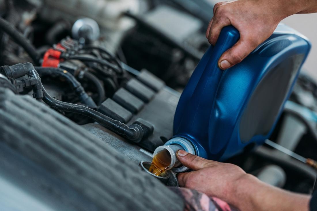 Lepkość olejów silnikowych
