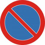 znak zakaz postoju