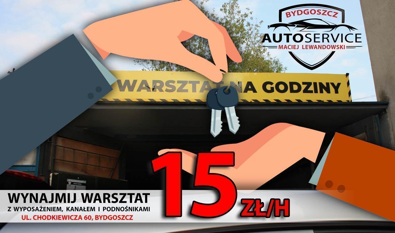 wynajmij warsztat na godziny Bydgoszcz